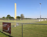 New Fence, Foul Pole and LED Lights